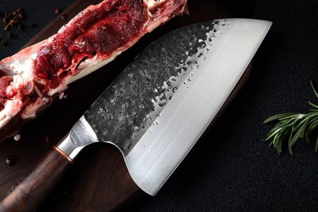 XITUO Stainless Steel Chef Knife Handmade Forged Sharp Cleaver Wide blade Professional Butcher Knife Utility Vegetable Knives