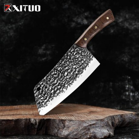 NEW 2020 Handmade forging Kitchen Knives Kiritsuke Knife Chef Cooking Tools wenge Handle High Quality Eco Friendly Products