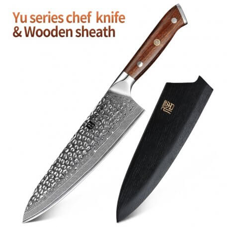 """XINZUO 8.2"""" inch Chef's Knife 67 layer Damascus Steel Kitchen Cleaver Cutlery Stainless Steel Butcher Knives"""
