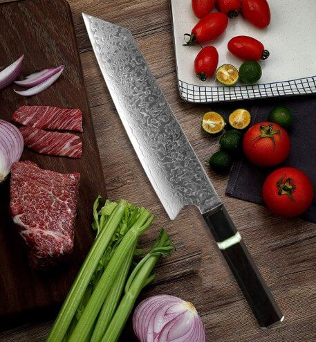 XITUO Kitchen Chef Knife Damascus G10 Steel Sharp Professional Kiritsuke Cleaver Slicing Utility Cooking Knives Ebony Handle New