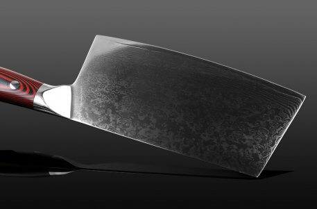 XITUO Damascus Chef Knife 7 Inch Chinese Kitchen Knife Sharp Cut Cleaver Slice Professional Kitchen Knife Household Kitchenware