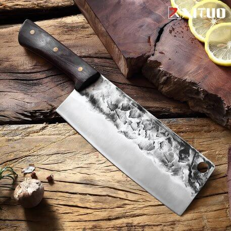 XITUO Kitchen Knife Home Cleaver High carbon stainless steel Chef Knife Handmade Forged Knives Butcher Knives Meat Slicing