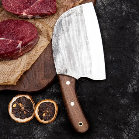 XITUO Handmade Chef Knife Traditional Chinese Cleaver Kitchen Knife Wide blade Ultra Sharp Blade Cutlery For Meat Dropshipping