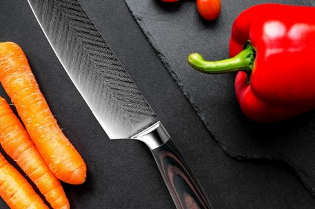 """XITUO 8"""" inch japanese kitchen knives Damascus surface Chef Knife wood handle Japan steel Santoku Cleaver Utility Knives tool"""
