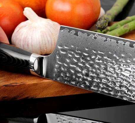 XITUO Damascus Knife 8 inch Professional Chef Knife 67 layer Damascus Steel Kitchen Knives Cleaver Slaughter knife Forging blade