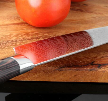 """XITUO 8""""inch Chef Knife Professional Kitchen Knife Japanese Damascus Pattern Stainless Steel Meat Santoku Knife Gift"""