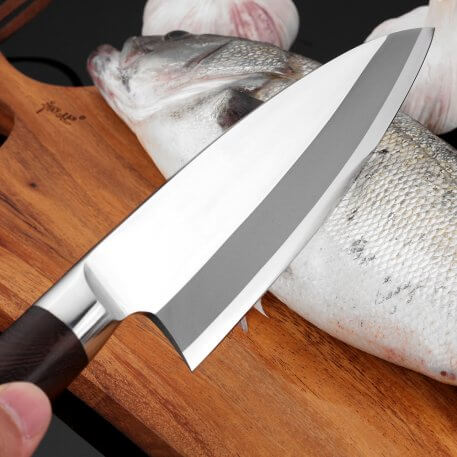 XITUO High Quality Kitchen Knife Set Stainless Steel Japan Sharp Santoku Chef knife Cleaver Raw Fish Fillet Salmon Boning Knives