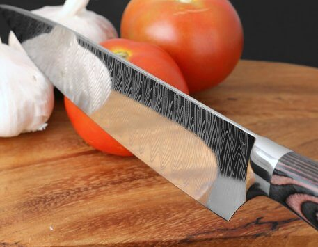 """XITUO 8"""" Professional Chef Knife Japanese Stainless Steel Santoku Kitchen Damascus Laser pattern Vegetable slice meat cleaver CN"""