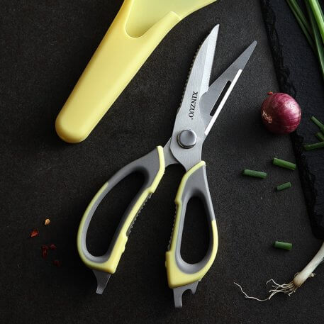XINZUO Kitchen Scissors Stainless Steel Shears Tool Home Use for Chicken Poultry Fish Meat Vegetables Herbs BBQ New Cooking Tool