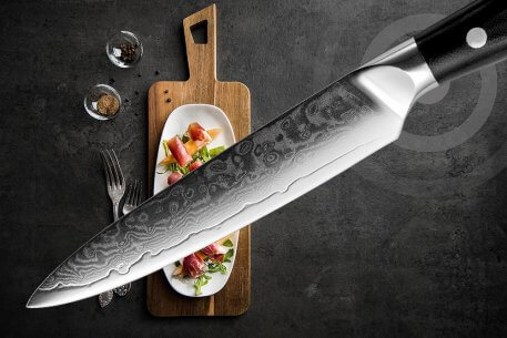 """XITUO 3 Pcs Utility Kitchen Knife Sets High Quality 67 Layer Japan VG10 Damascus Steel Chef Knife 8""""5""""3.5""""Inch Cooking Tool Gift"""