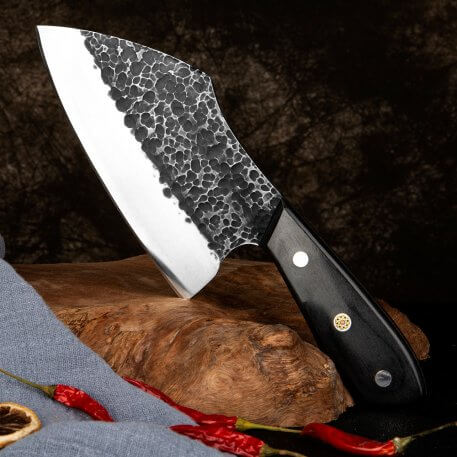 XITUO Full Tang Fish knife Hand forged Chef knives Ultra Sharp split knife slaughter special knife Family Hotel kitchen knives