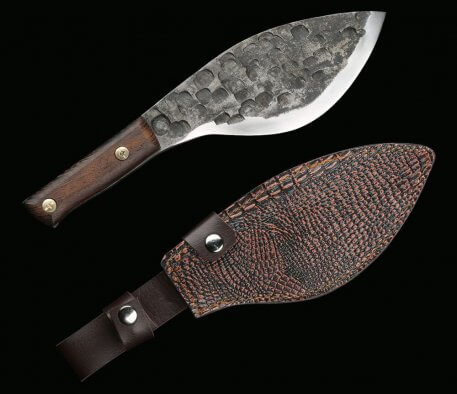 XITUO Full tang slaughtering knife kitchen chef high manganese steel hardness forged manual knife Chinese traditional Butcher
