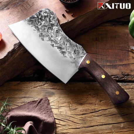 XITUO hand Forged Bone Knife Hotel Kitchen Butcher Special Knife High Manganese Steel Forging Chef knives Ultra Sharp Practical
