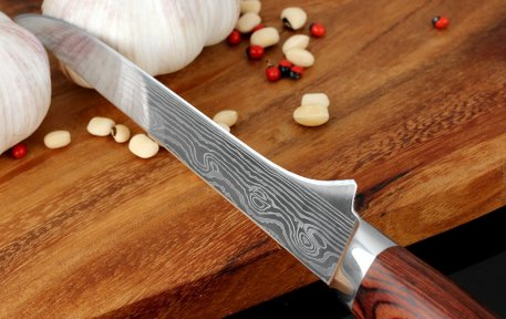 """Kitchen Knives Stainless Steel 5.5"""" inch 7CR17 Multifunctional Japanese Style Fruit Paring Bone Knife Meat Cleaver Kitchen tool"""