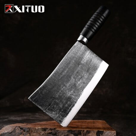 Handmade forged kitchen knife chop bone knives household kitchen knife chef professional knife chop cutting knife cleaver
