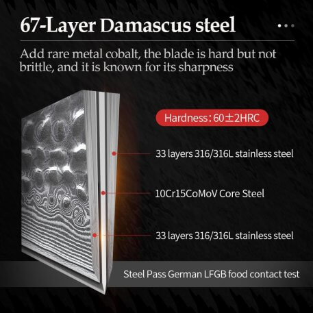 XINZUO 3.5 inches Paring Knife 67 Layers Damascus Steel Kitchen Knife Knife Stainless Steel Fruit Peeling Knivese Table Cutter