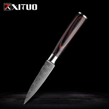 XITUO Professional Chef Knife High Carbon Stainless Steel Kitchen Knife Chef's Knife Sharp Blade Utility Cooking Slicing Knife