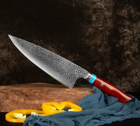XITUO Damascus Butcher Knives Sharp professional Chef knife Cleaver VG10 Damascus Steel Kitchen Knives Utility Cooking tools