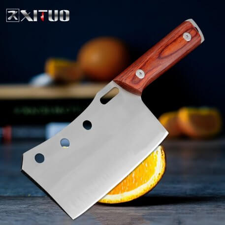 XITUO Stainless Steel Fruit Knife Home Outdoor Mini Kitchen Knife Utility Multi-function High Hardness Barbecue Portable Tools
