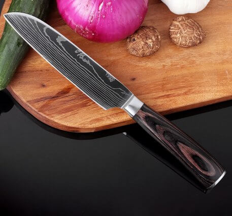 """XITUO Kitchen Knives Chef Knives 5"""" Paring Utility Slicing Knife Cooking Tool 7 CR17 Stainless Steel Pattern Vegetable Knife New"""
