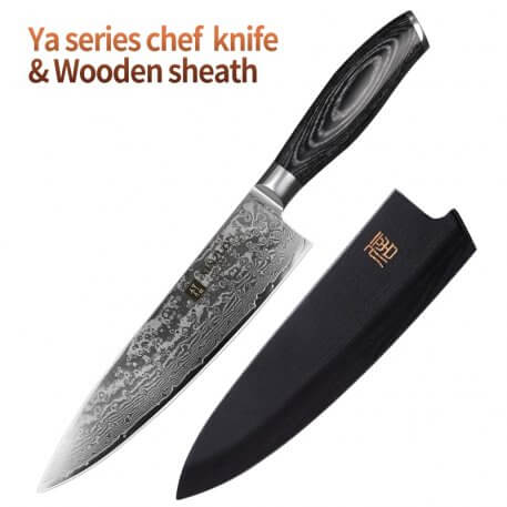 XINZUO 8'' inches Chef Knife Gyuto Knife Japanese VG10 Damascus Kitchen Knives Stainless Steel Butcher Knife Pakka wood handle