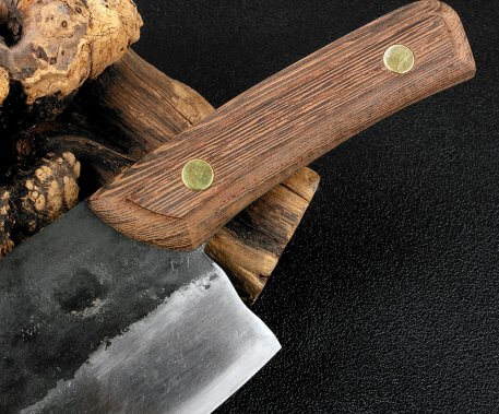 XITUO Forged Kitchen Chef Knife Traditional Handmade Clip Steel Slicing Meat Vegetable Multifunctional Butcher Knives Clad Steel